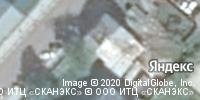 Фотография со спутника Яндекса, улица Зайцева, дом 9 в Коломне