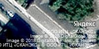 Фотография со спутника Яндекса, Полянская улица, дом 12 в Коломне