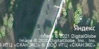 Фотография со спутника Яндекса, Баррикадная улица, дом 28 в Воронеже