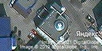 Фотография со спутника Яндекса, улица Меркулова, дом 4 в Липецке