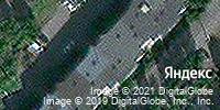 Фотография со спутника Яндекса, улица Меркулова, дом 5 в Липецке