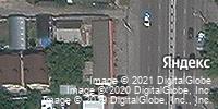 Фотография со спутника Яндекса, улица Малиновского, дом 13Н/1 в Ростове-на-Дону
