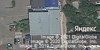 Фотография со спутника Яндекса, улица Малиновского, дом 54Б в Ростове-на-Дону