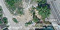 Фотография со спутника Яндекса, улица 40 лет Октября, дом 7 в Липецке