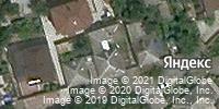 Фотография со спутника Яндекса, улица Малюгиной, дом 53 в Ростове-на-Дону