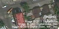 Фотография со спутника Яндекса, улица Текучева, дом 164 в Ростове-на-Дону