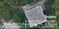Фотография со спутника Яндекса, улица Шевченко, дом 28 в Рязани