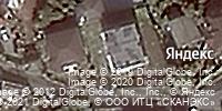 Фотография со спутника Яндекса, переулок Рахманинова, дом 8А в Сочи