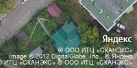 Фотография со спутника Яндекса, улица Шевченко, дом 7 в Рязани