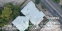 Фотография со спутника Яндекса, улица Ленина, дом 3 в Рязани