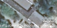 Фотография со спутника Яндекса, улица Зубковой, дом 8А в Рязани