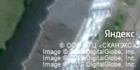 Фотография со спутника Яндекса, Приморский бульвар, дом 32 в Северодвинске