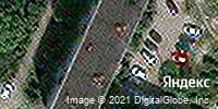 Фотография со спутника Яндекса, улица Маршала Конева, дом 24Б в Вологде