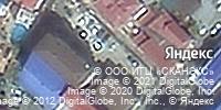 Фотография со спутника Яндекса, улица Ульянова, дом 11А в Сочи