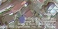 Фотография со спутника Яндекса, улица Крупской, дом 21 в Сочи