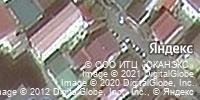 Фотография со спутника Яндекса, улица Крупской, дом 13А в Сочи
