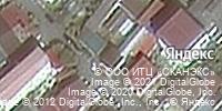 Фотография со спутника Яндекса, улица Крупской, дом 10 в Сочи