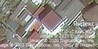 Фотография со спутника Яндекса, улица Крупской, дом 8 в Сочи