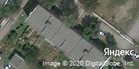 Фотография со спутника Яндекса, улица Рылеева, дом 43В в Шахтах