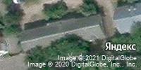 Фотография со спутника Яндекса, улица Разина, дом 4 во Владимире