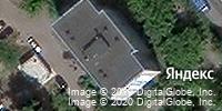 Фотография со спутника Яндекса, улица Шубиных, дом 4А в Иванове