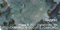 Фотография со спутника Яндекса, Рязанская улица, дом 17 в Тамбове