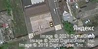 Фотография со спутника Яндекса, улица Лермонтова, дом 93 в Ставрополе