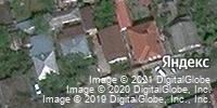 Фотография со спутника Яндекса, улица Лермонтова, дом 13 в Ставрополе