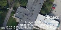 Фотография со спутника Яндекса, улица Гончарова, дом 1Д в Нижнем Новгороде