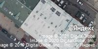 Фотография со спутника Яндекса, Мануфактурная улица, дом 14 в Нижнем Новгороде