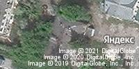 Фотография со спутника Яндекса, Ильинская улица, дом 143А в Нижнем Новгороде