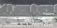 Фотография со спутника Яндекса, улица Композитора Касьянова, дом 5 в Нижнем Новгороде