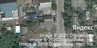 Фотография со спутника Яндекса, 2-й Майский переулок, дом 11 в Волгограде