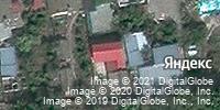 Фотография со спутника Яндекса, Строительная улица, дом 23Б в Волгограде