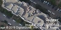 Фотография со спутника Яндекса, Авиаторская улица, дом 1А в Волгограде