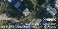 Фотография со спутника Яндекса, улица Брюллова, дом 44 в Волгограде