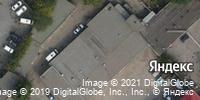 Фотография со спутника Яндекса, Ангарская улица, дом 1А в Волгограде