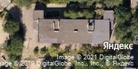 Фотография со спутника Яндекса, Ополченская улица, дом 28А в Волгограде
