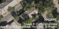 Фотография со спутника Яндекса, 2-я Караванная улица, дом 5 в Волгограде