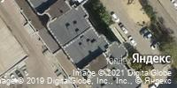 Фотография со спутника Яндекса, улица Николая Отрады, дом 20Б в Волгограде