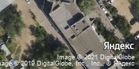 Фотография со спутника Яндекса, улица Николая Отрады, дом 26А в Волгограде