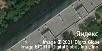 Фотография со спутника Яндекса, улица Николая Отрады, дом 40 в Волгограде
