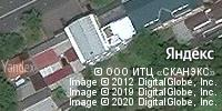 Фотография со спутника Яндекса, улица Хаджи Мамсурова, дом 33А во Владикавказе