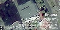 Фотография со спутника Яндекса, проспект Коста, дом 236 во Владикавказе