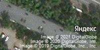 Фотография со спутника Яндекса, улица Кирова, дом 16 в Волжском