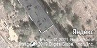 Фотография со спутника Яндекса, улица 40 лет Победы, дом 73 в Волжском