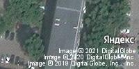 Фотография со спутника Яндекса, улица Бакунина, дом 30А в Пензе