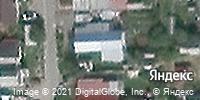 Фотография со спутника Яндекса, улица Чехова, дом 3 в Саранске