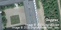 Фотография со спутника Яндекса, улица Металлургов, дом 9 в Камышине