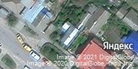 Фотография со спутника Яндекса, улица Базарова, дом 20 в Камышине